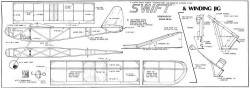 Swift 22in model airplane plan