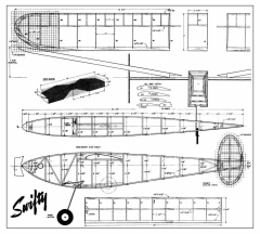 Swifty model airplane plan
