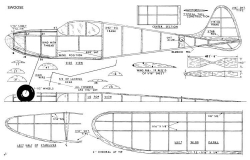 Swoose model airplane plan