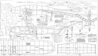 Tiira-6 model airplane plan