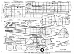 The T-Craft (Taylorcraft) model airplane plan