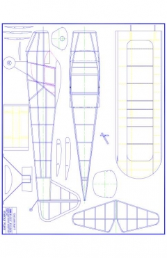 T-craft Model 1 model airplane plan