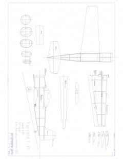 T31 speed400 Model 1 model airplane plan