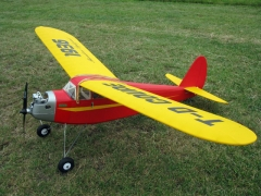 TD Coupe model airplane plan