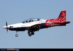 TGS PILATUS PC21 model airplane plan