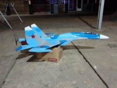 TGS SUKHOI SU-35S model airplane plan