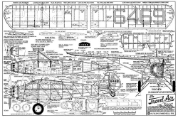 TRAVEL AIR 6000 model airplane plan