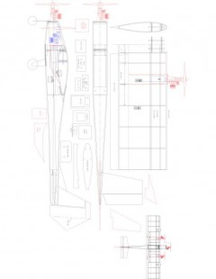 TRIPPLE Model 1 model airplane plan