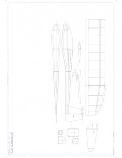 T TailA Model 1 model airplane plan
