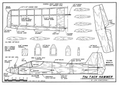 TackHammer model airplane plan