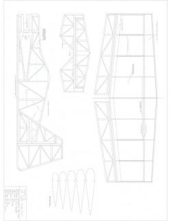 Taco II Model 1 model airplane plan