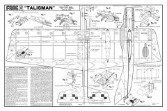 Talisman model airplane plan