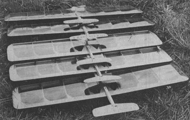 Tamerlane model airplane plan