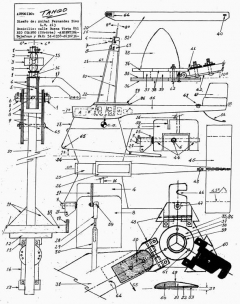 Tango model airplane plan
