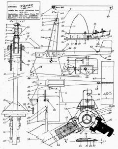 Tango model airplane plan