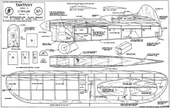Tantivvy model airplane plan