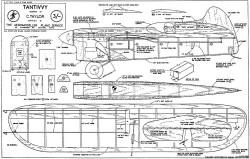 Tantivvy model airplane plan