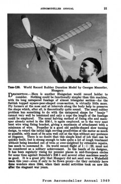 Tass-130 model airplane plan