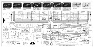 Taylor Cub model airplane plan