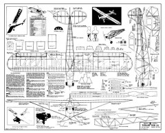 Taylor Cub J2 Megow model airplane plan