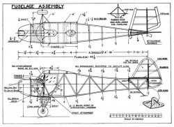 Taylor Young p1 model airplane plan