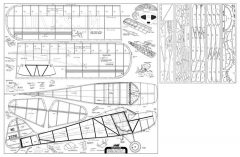 Taylorcraft 2 model airplane plan