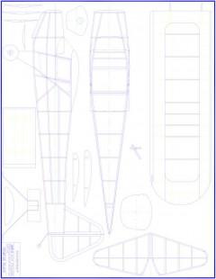 Taylorcraft Model 1 model airplane plan