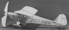 Taylorcraft model airplane plan