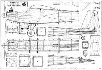 Telemaster 71in Engel KG model airplane plan