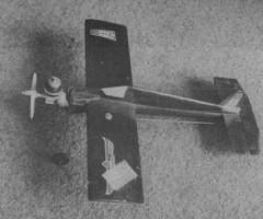 Templeton Mk II model airplane plan
