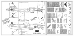 Testors Junior 9 model airplane plan