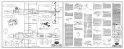 Testors Senior 9 model airplane plan