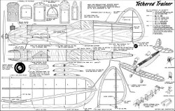 Tethered Trainer model airplane plan