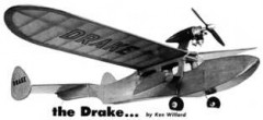 TheDrake model airplane plan