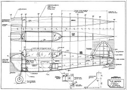 The Flying Air Warden p1 model airplane plan