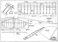 The Flying Air Warden p2 model airplane plan