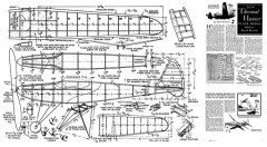 Thermal Hunter model airplane plan