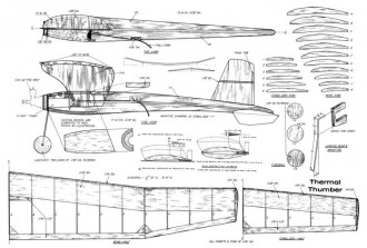 ThermalThumber model airplane plan