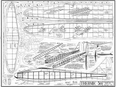 Thermic 50 model airplane plan