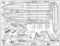 Thermic 72 model airplane plan