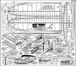 Thermic C model airplane plan