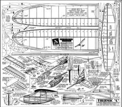 Thermic C model airplane plan
