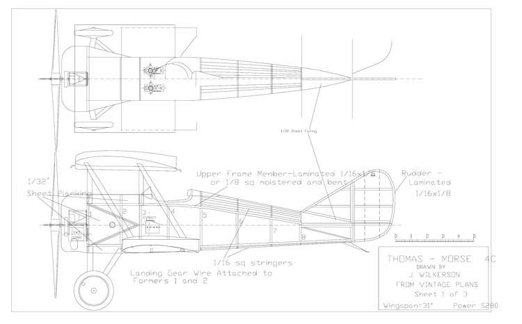 ThomasM model airplane plan