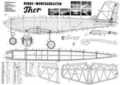 Thor model airplane plan