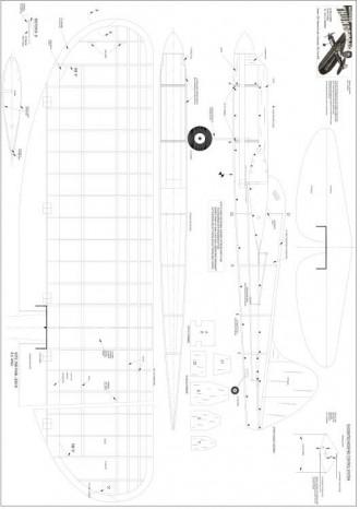 Thunderbug model airplane plan