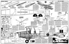 Tiger Moth sterling model airplane plan