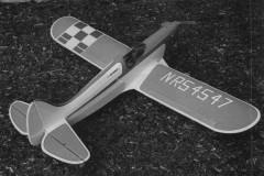Tigercat Mk II model airplane plan