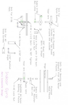 Tilt Head Mech model airplane plan