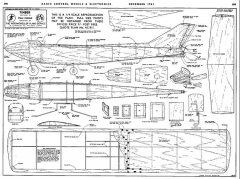 Timber model airplane plan