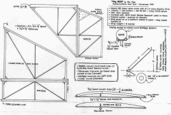 Tiny Moo p1 model airplane plan